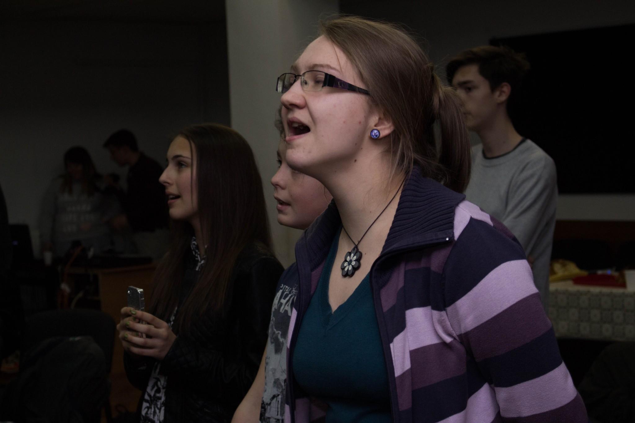 tinerii bisericii