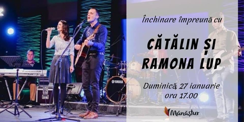 Închinare împreună cu Cătălin și Ramona Lup