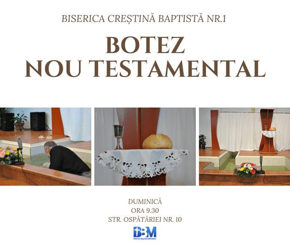 Botez Nou Testamental